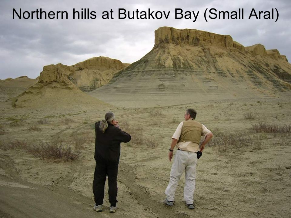 Northern hills at Butakov Bay (Small Aral)