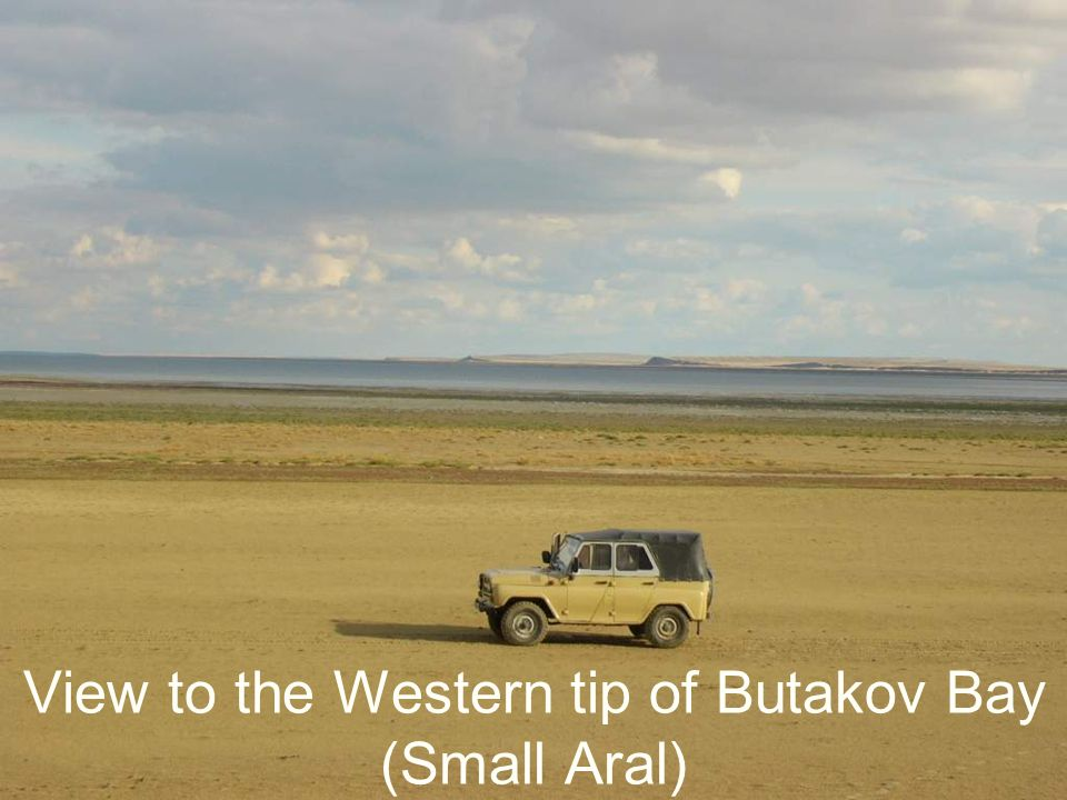 View to the Western tip of Butakov Bay (Small Aral)