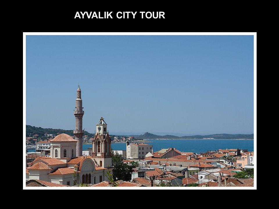 TOUR DETAILS DEPARTURE TIME FROM AYVALIK MARINA : 09:00 ARRIVAL TIME TO AYVALIK MARINA : 16:00 PRICE : 10 EURO (PP) * Minimum 30 persons