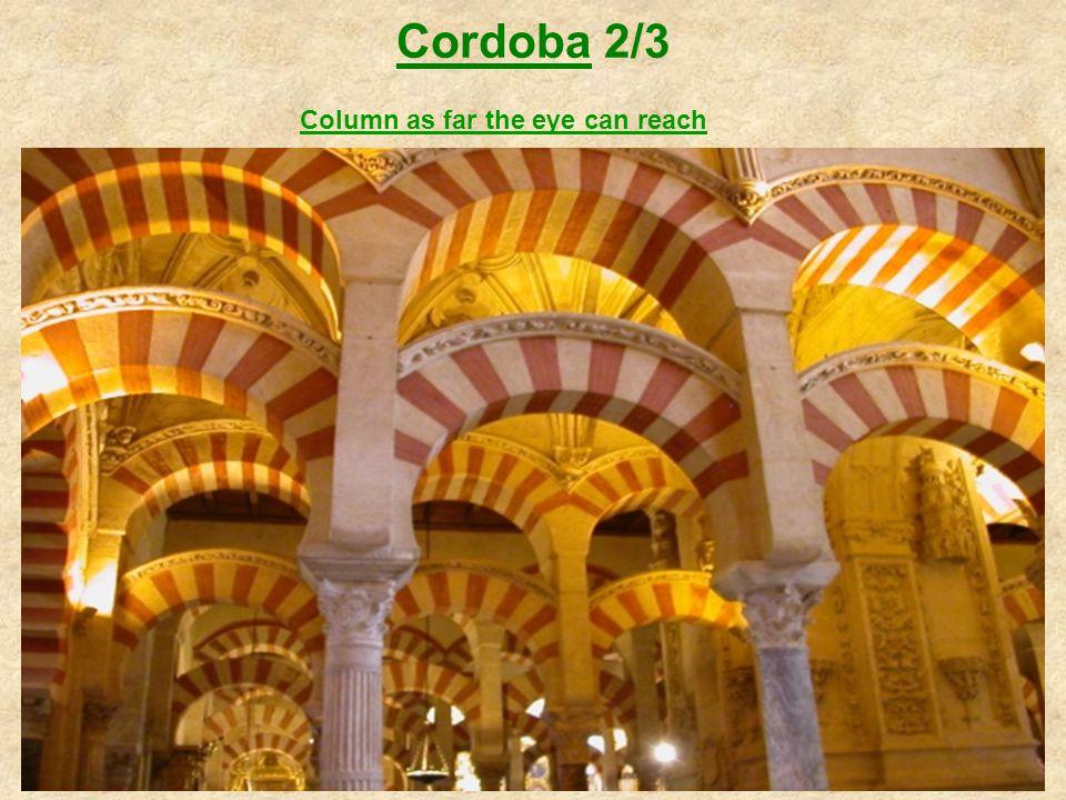 Cordoba 2/3 Column as far the eye can reach