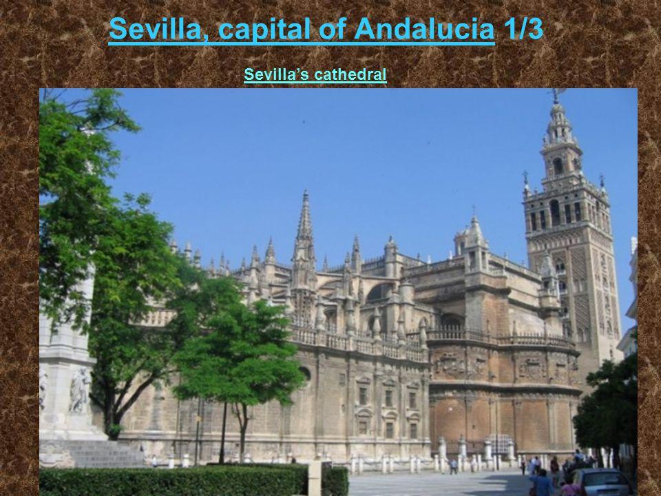 Sevilla, capital of Andalucia 1/3 Sevilla's cathedral
