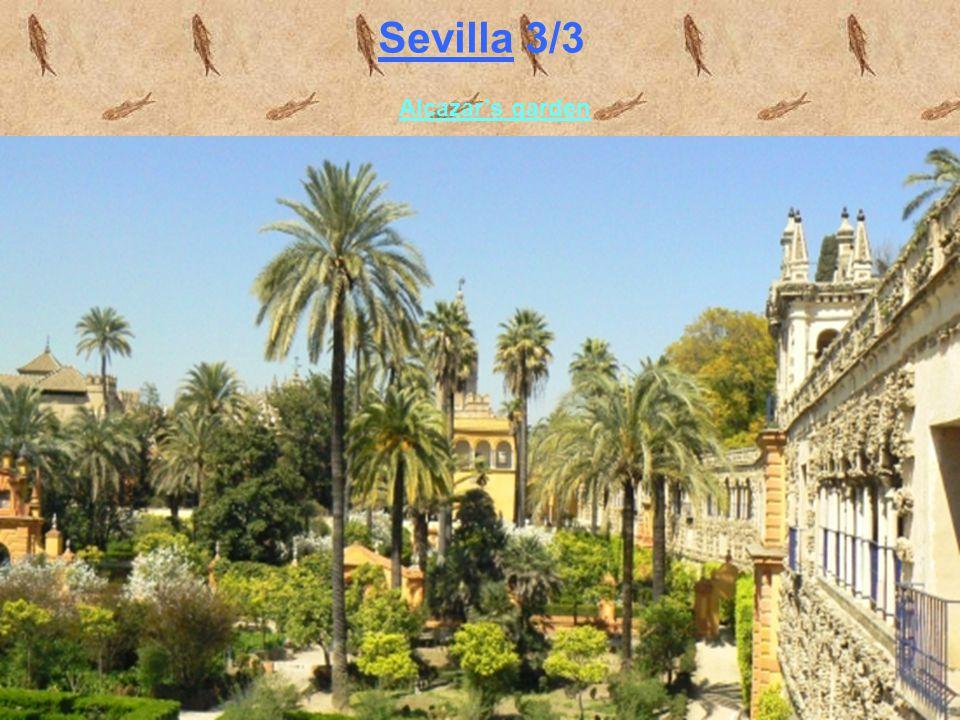 Sevilla 3/3 Alcazar's garden