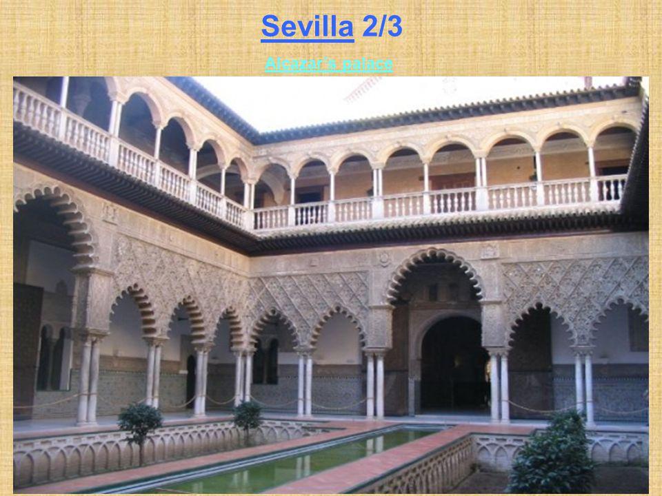 Sevilla 2/3 Alcazar's palace