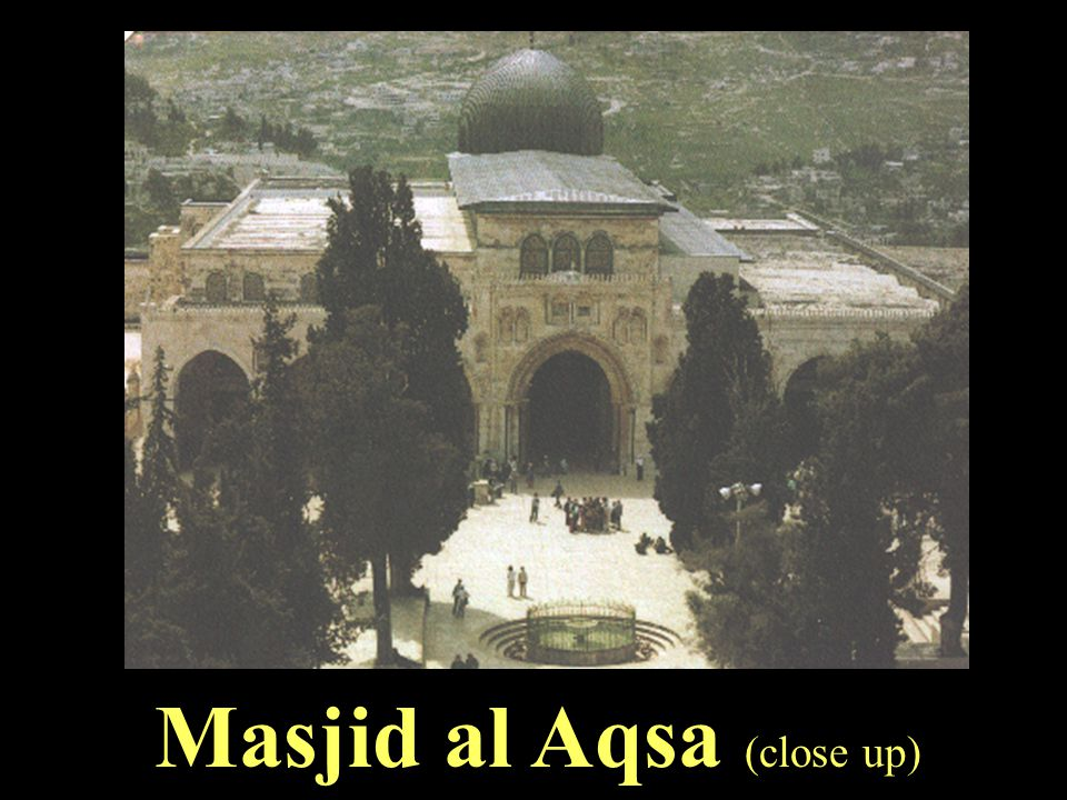 Masjid al Aqsa (close up)