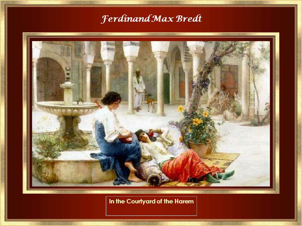 Frederick Arthur Bridgman In the Seraglio