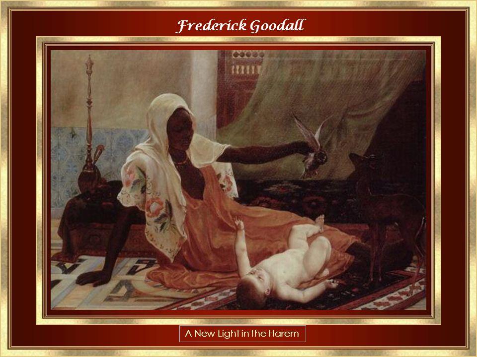 Frederick Arthur Bridgman 1847-1928 The Siesta