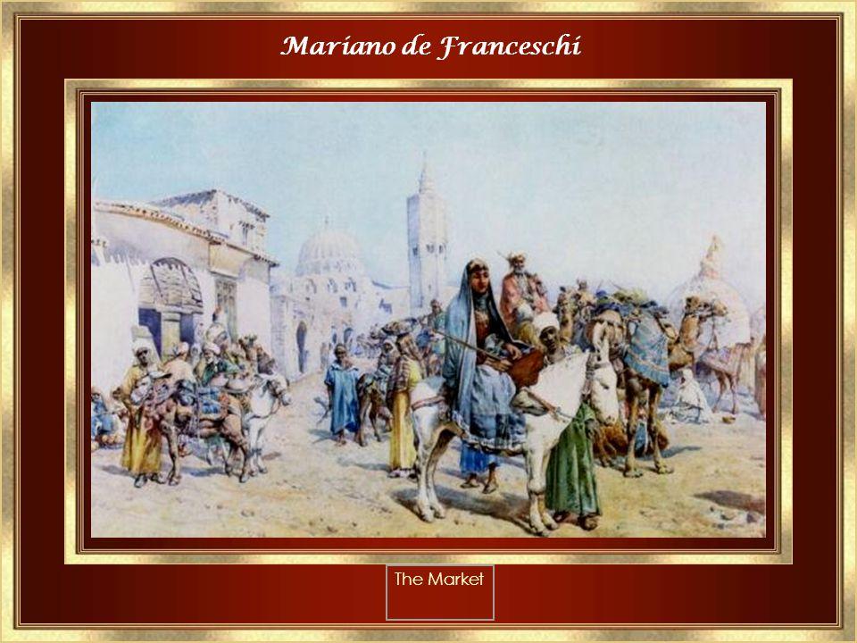 Raphael Von Ambros The Fruit Seller