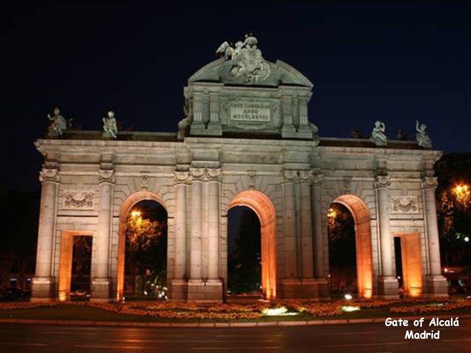 Gate of Alcalá Madrid