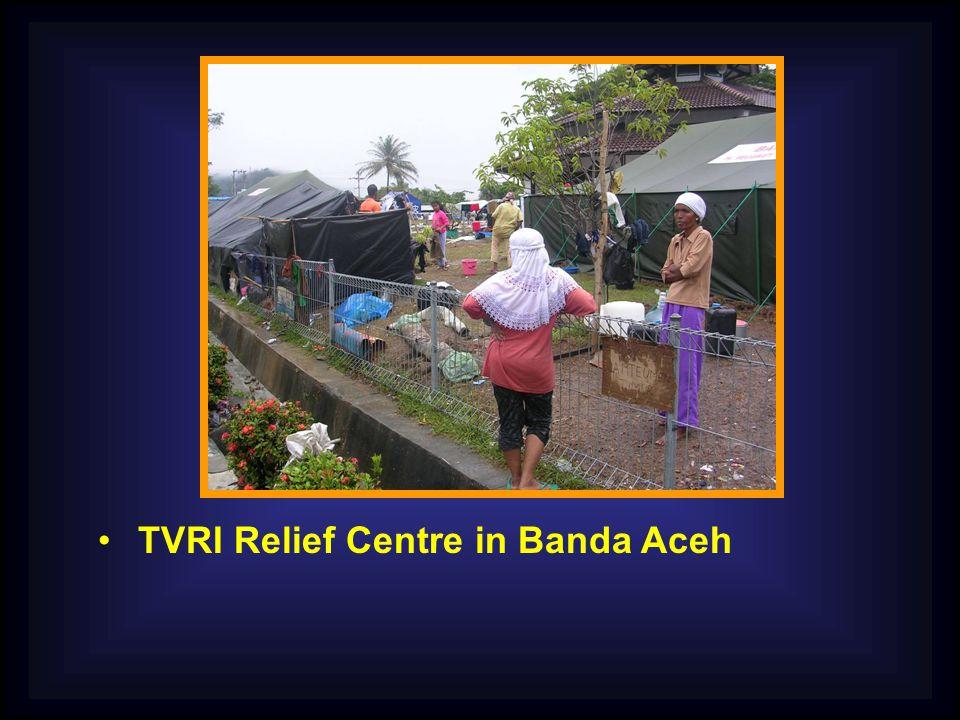 TVRI Relief Centre in Banda Aceh