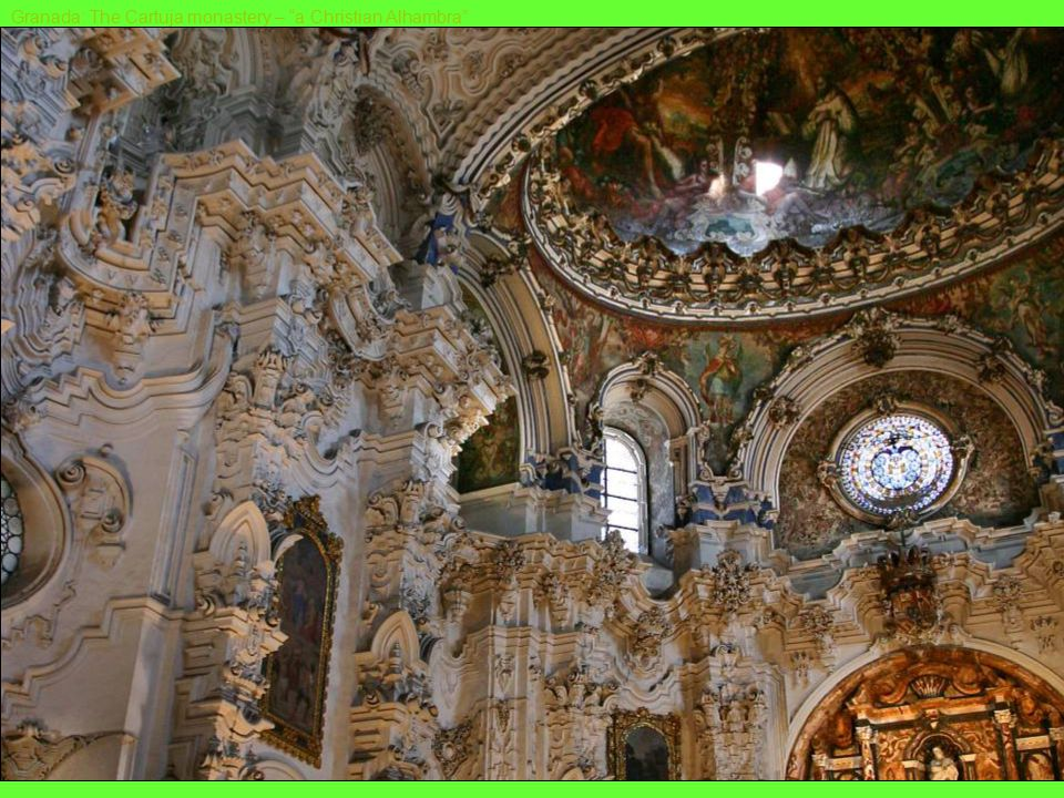 Ubeda (on UNESCO list of preserved old cities): The El Salvador church Granada: The cathedral