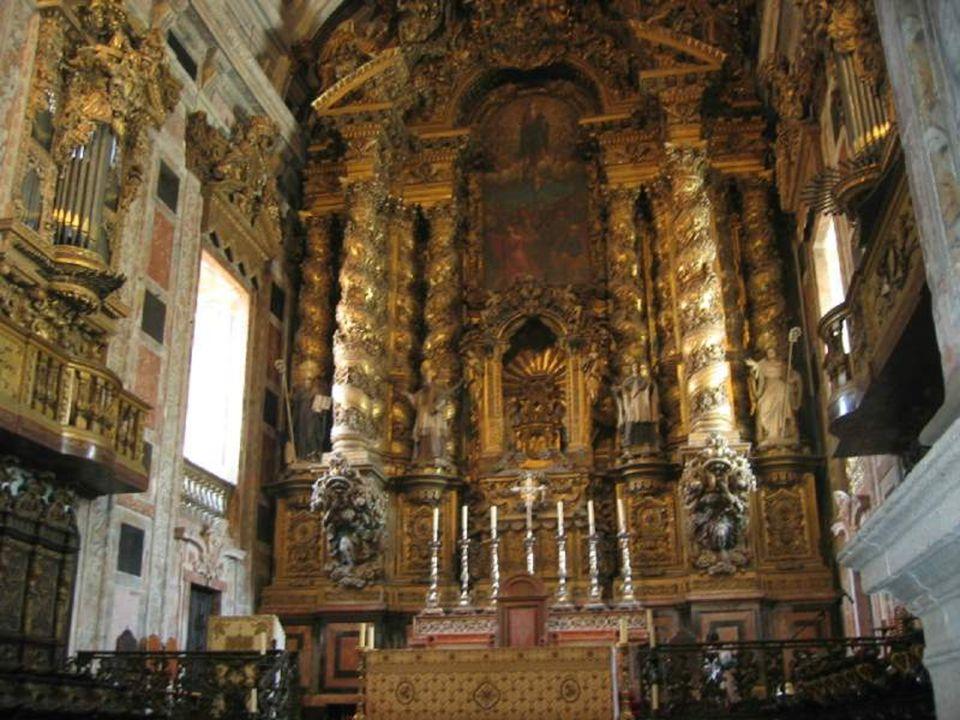 PORTUGAL CHURCHES INTERIORS