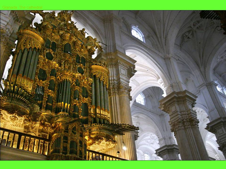 Seville: A Synagogue converted into a beautiful church SPANISH CHURCHES INTERIORS
