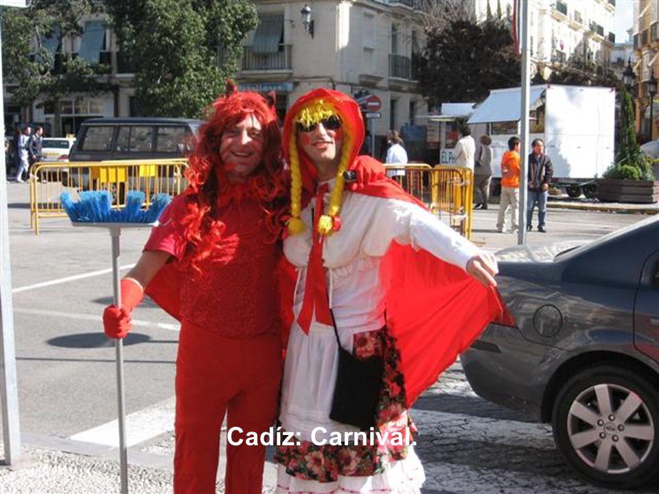 Cadíz: Carnival.