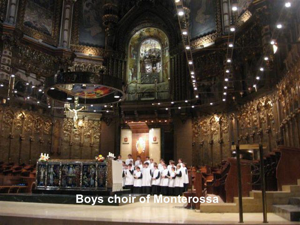 Boys choir of Monterossa