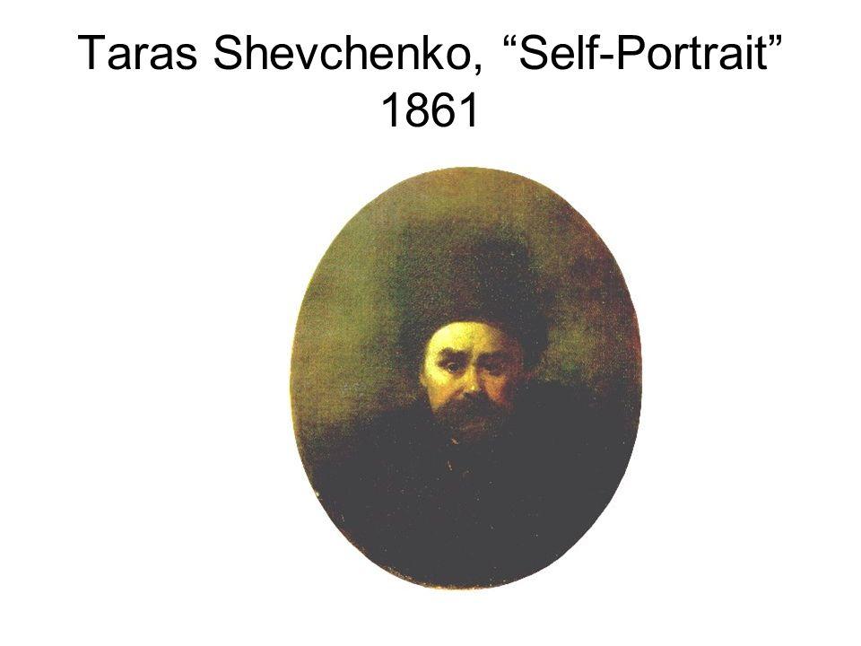 Taras Shevchenko, Self-Portrait 1861