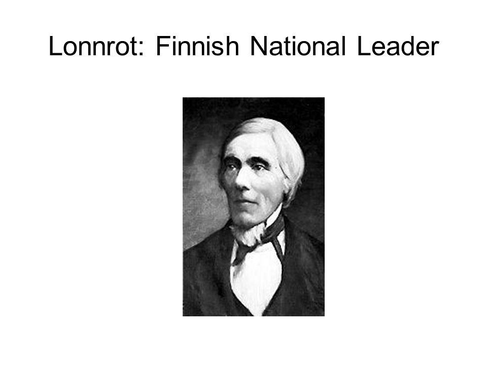 Lonnrot: Finnish National Leader