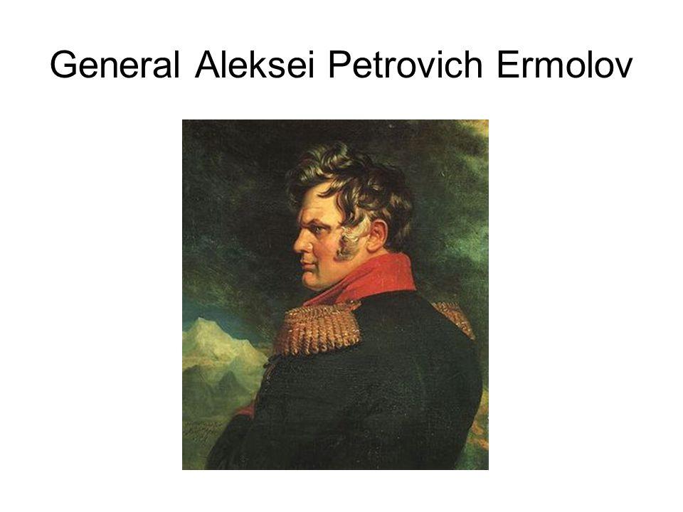 General Aleksei Petrovich Ermolov