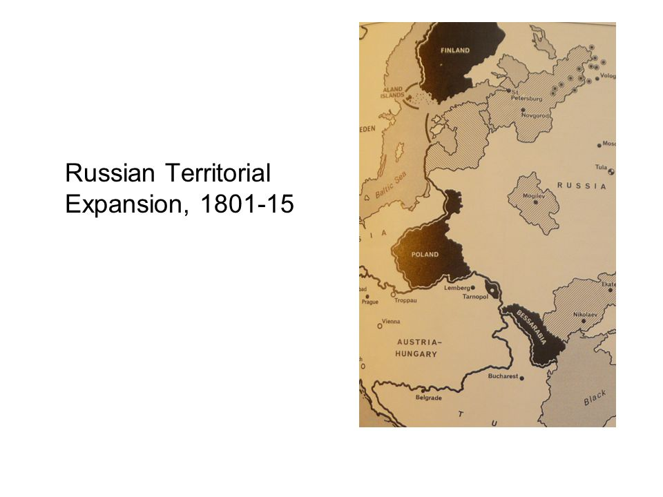 Russian Territorial Expansion, 1801-15