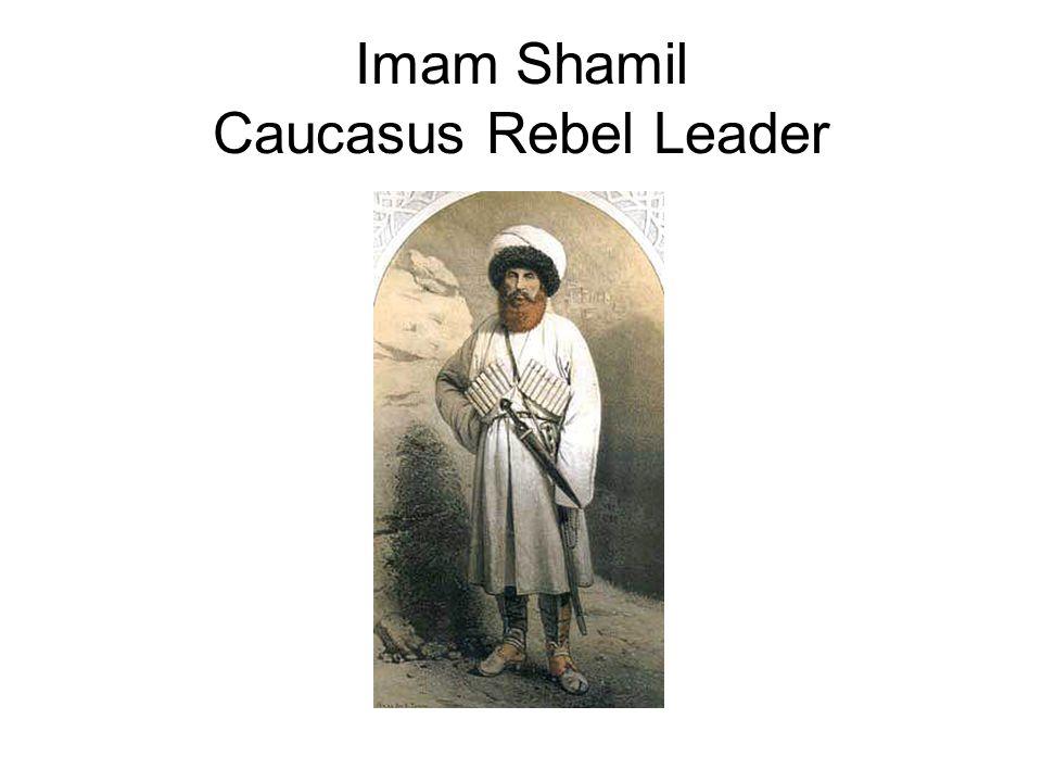 Imam Shamil Caucasus Rebel Leader