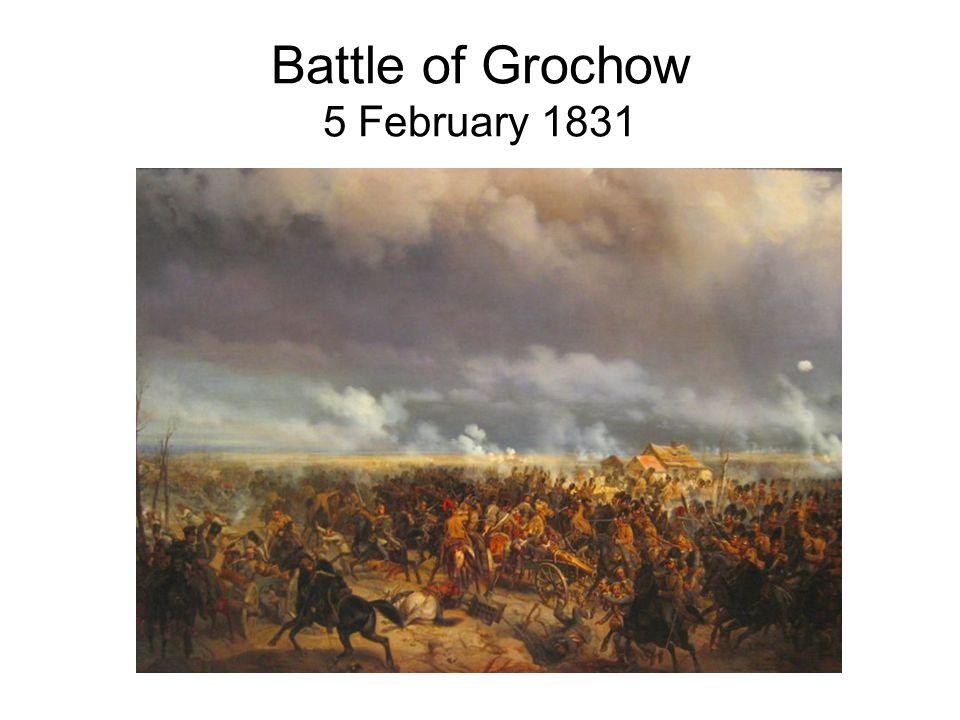Battle of Grochow 5 February 1831