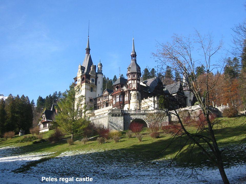 Peles regal castle