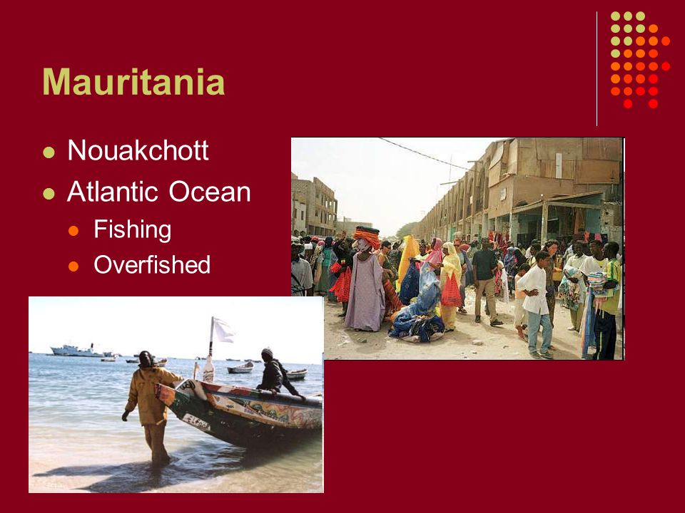 Mauritania Nouakchott Atlantic Ocean Fishing Overfished