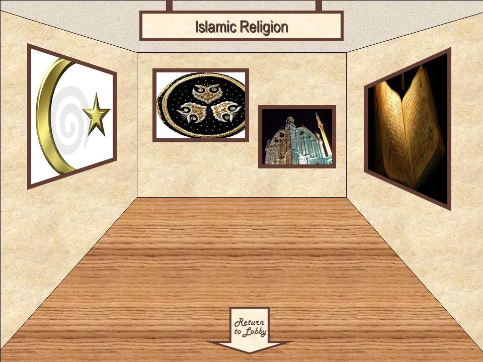 Room 3 Return to Lobby Islamic Religion