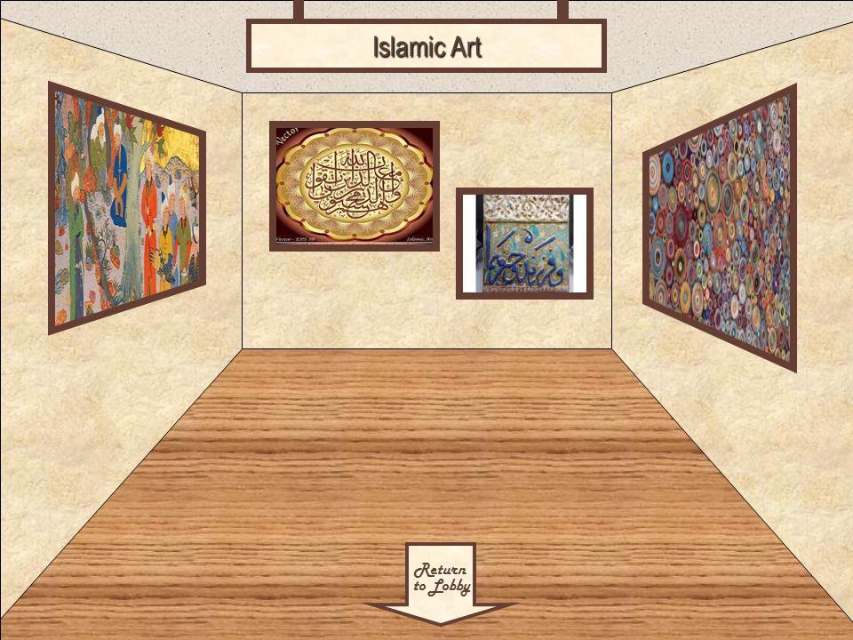 Room 4 Return to Lobby Islamic Art