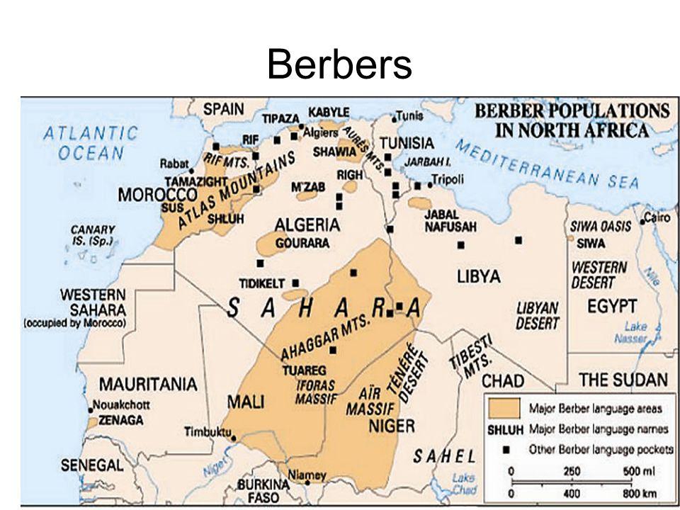 Arab World Christian Areas