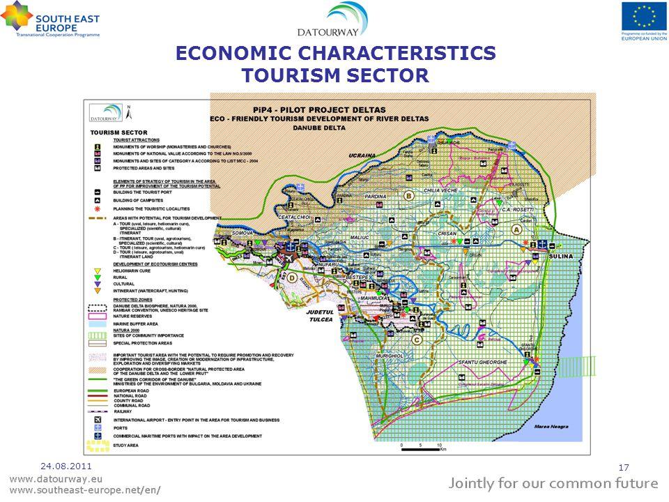 ECONOMIC CHARACTERISTICS TOURISM SECTOR 24.08.2011 17