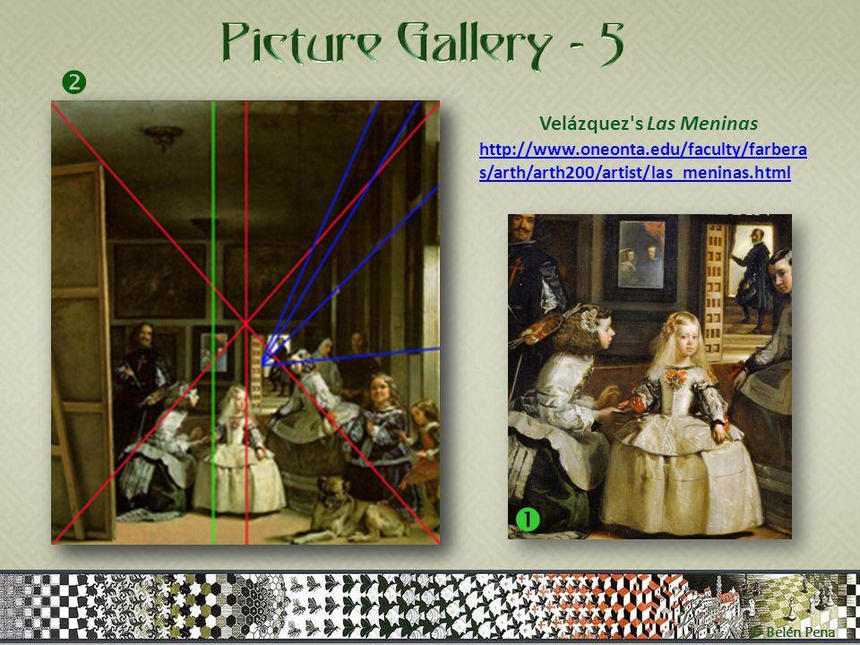 Velázquez s Las Meninas http://www.oneonta.edu/faculty/farbera s/arth/arth200/artist/las_meninas.html  