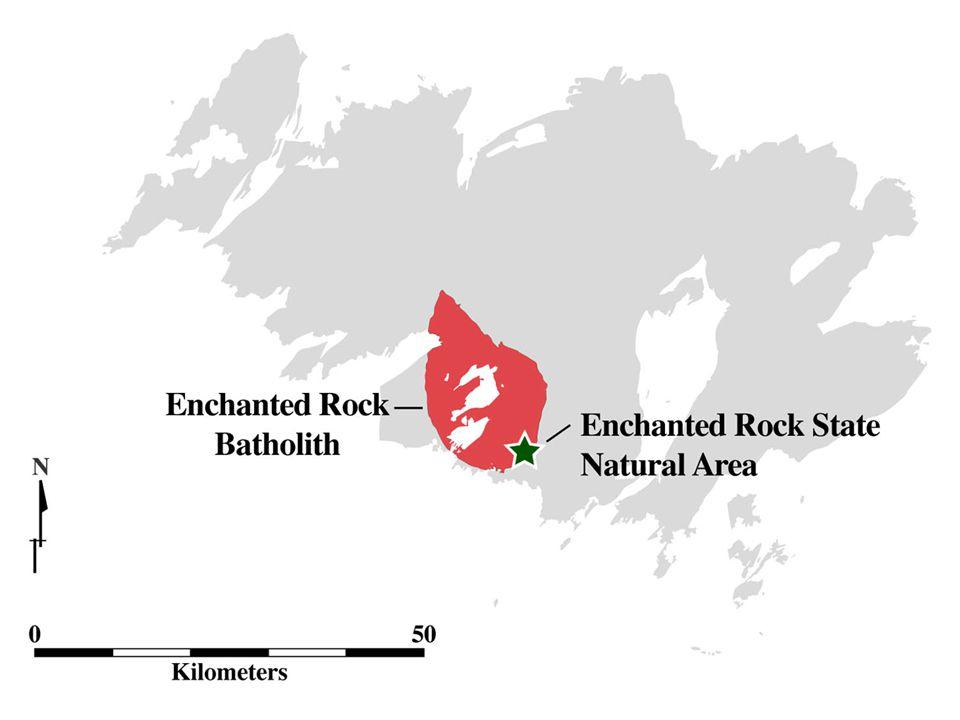 image 15 - Orientation; Enchanted Rock batholith within the Llano Uplift