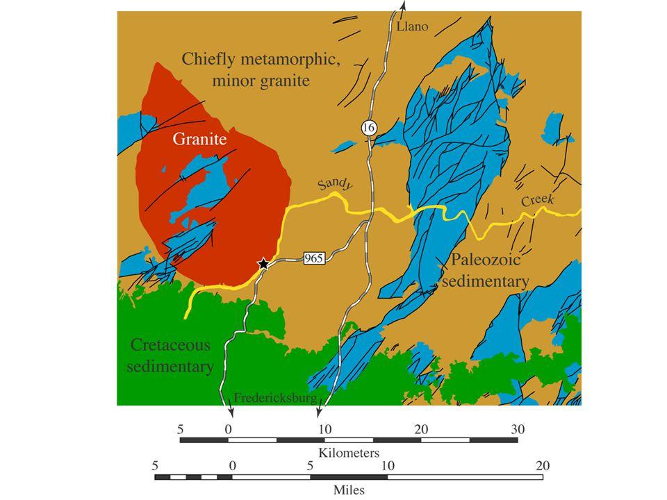 image 34 - Geologic map showing Sandy Creek