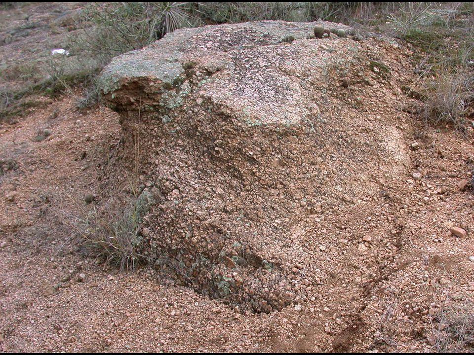 image 41 - Granite weathering into grus