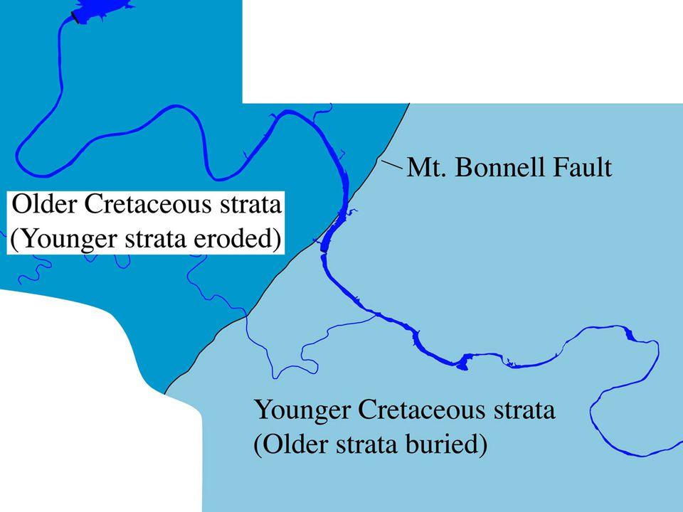 image 45 – Bedrock in Austin on two sides of Mt. Bonnell Fault