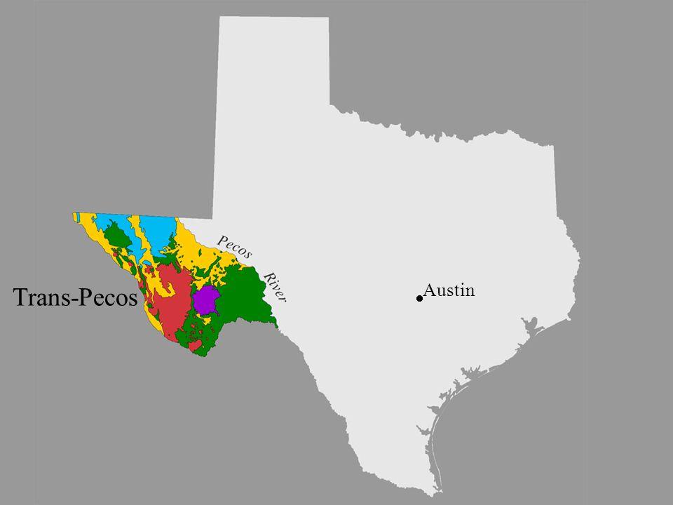 image 6 - Trans-Pecos sub- province Trans-Pecos Austin
