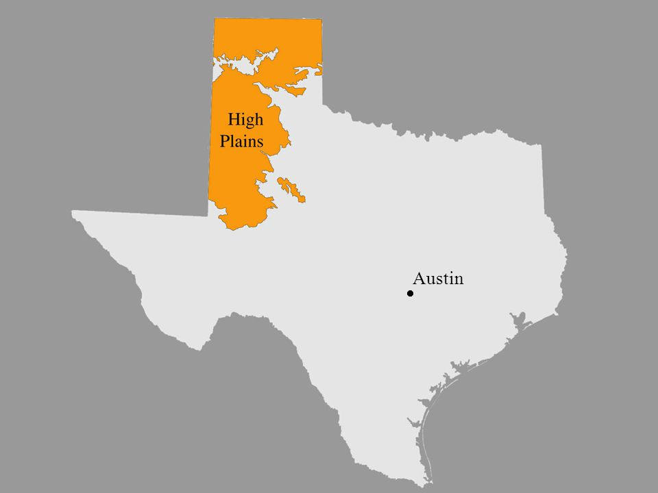 image 7 - High Plains sub- province Austin