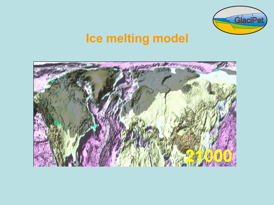 Ice melting model