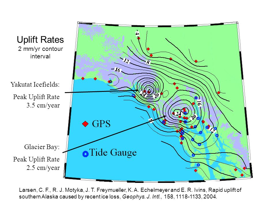 What Needs to be Done Existing vertical datum is in error by >30 cm in much of southern Alaska, as much as 1 m in places.