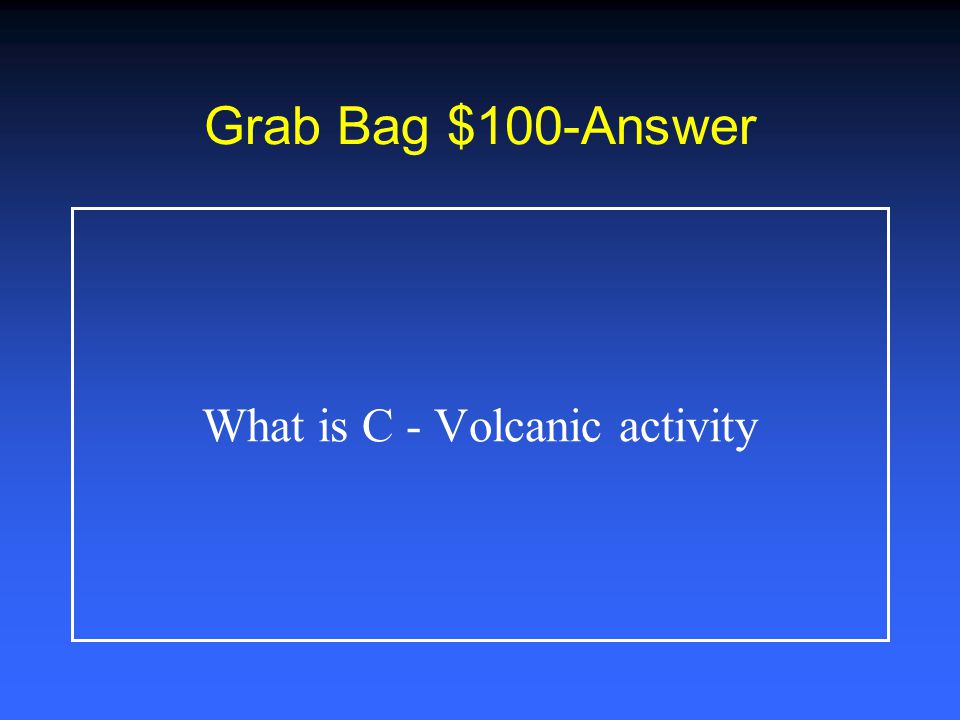 Grab Bag $500 Using the information in the table, the drawing that correctly shows how rock layers would appear A B C D