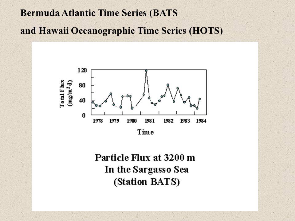 Bermuda Atlantic Time Series (BATS and Hawaii Oceanographic Time Series (HOTS)