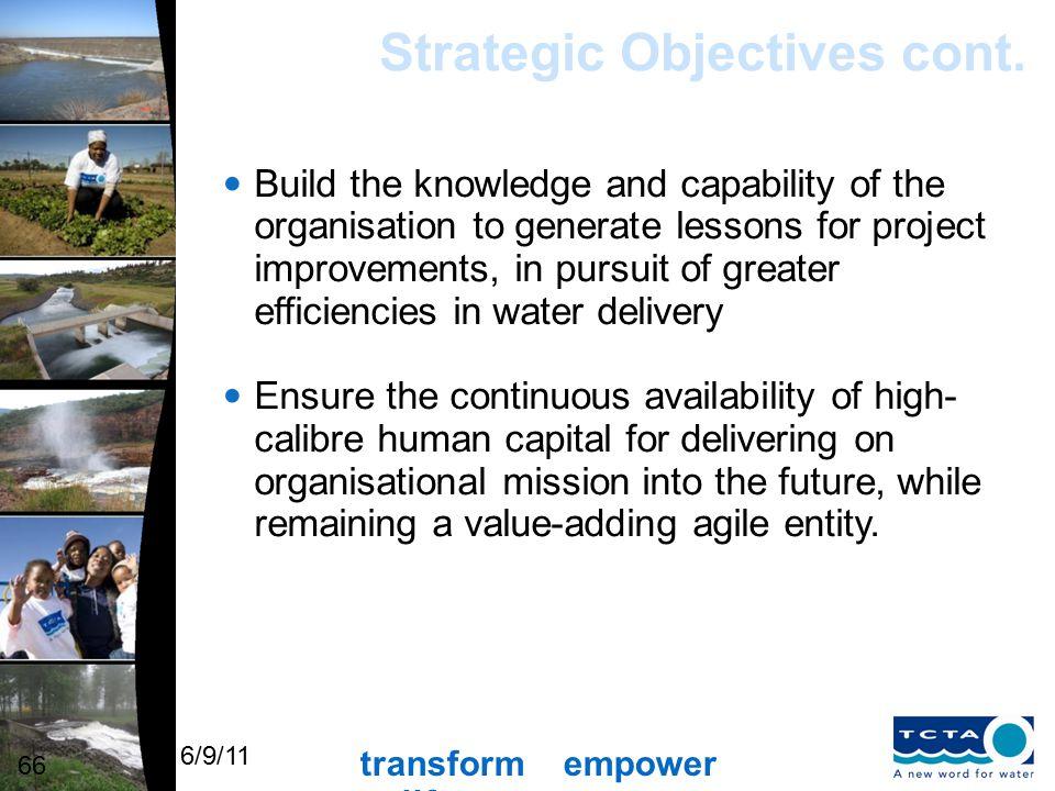 transform empower uplift 6/9/11 TCTA's Offering 77 Chief Executive Officer: Mr. James Ndlovu