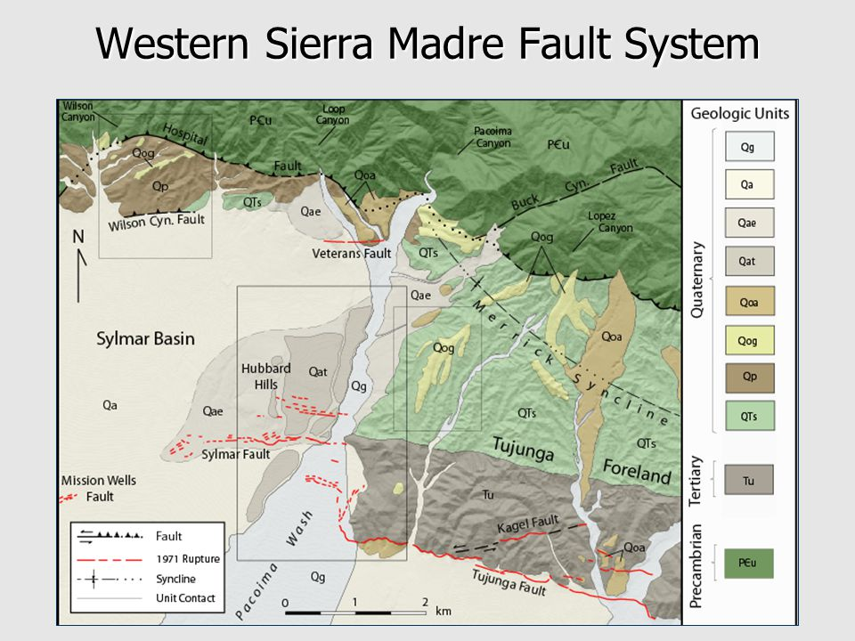 Western Sierra Madre Fault System