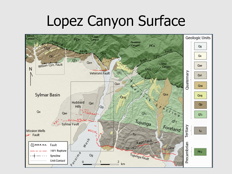 Lopez Canyon Surface