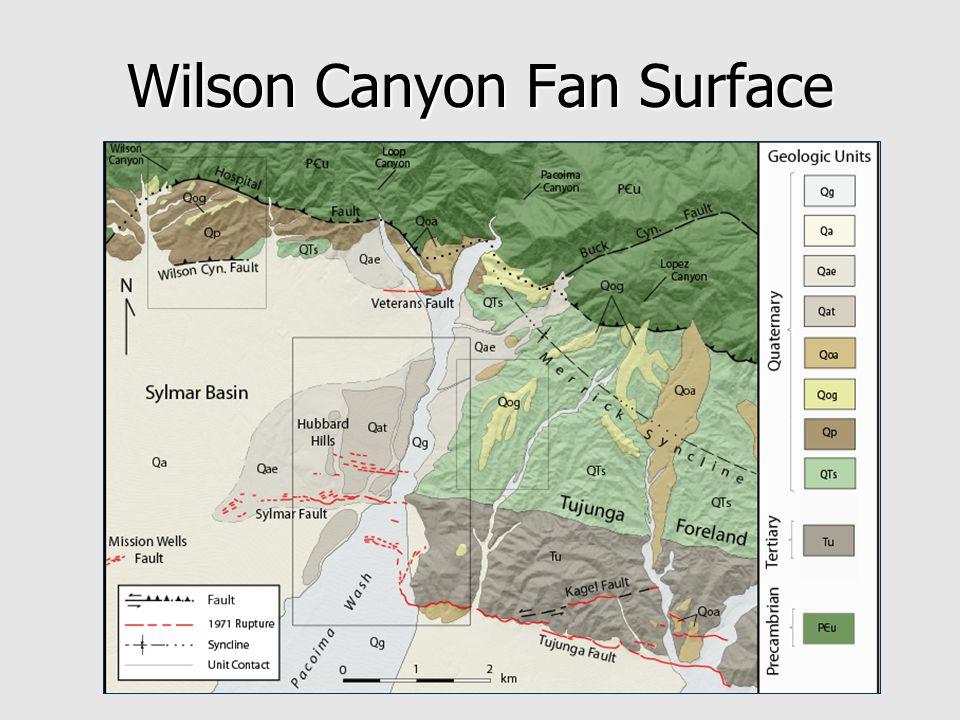 Wilson Canyon Fan Surface