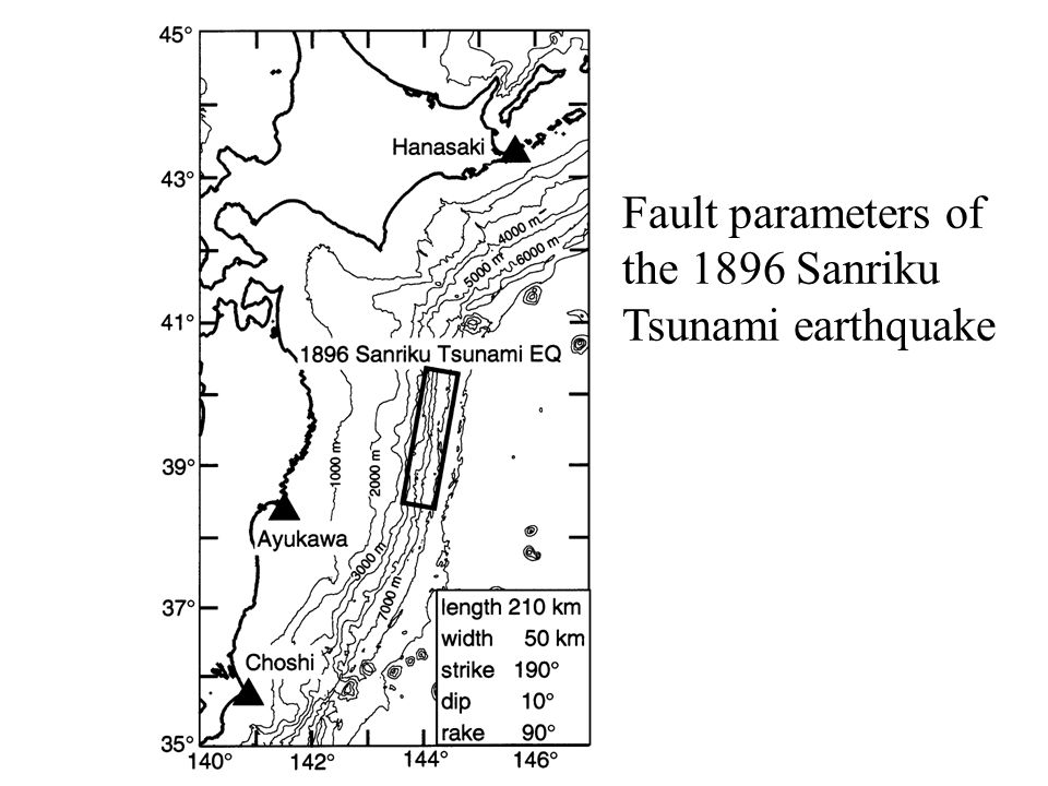 Fault parameters of the 1896 Sanriku Tsunami earthquake