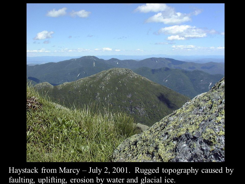 Haystack from Marcy – July 2, 2001.
