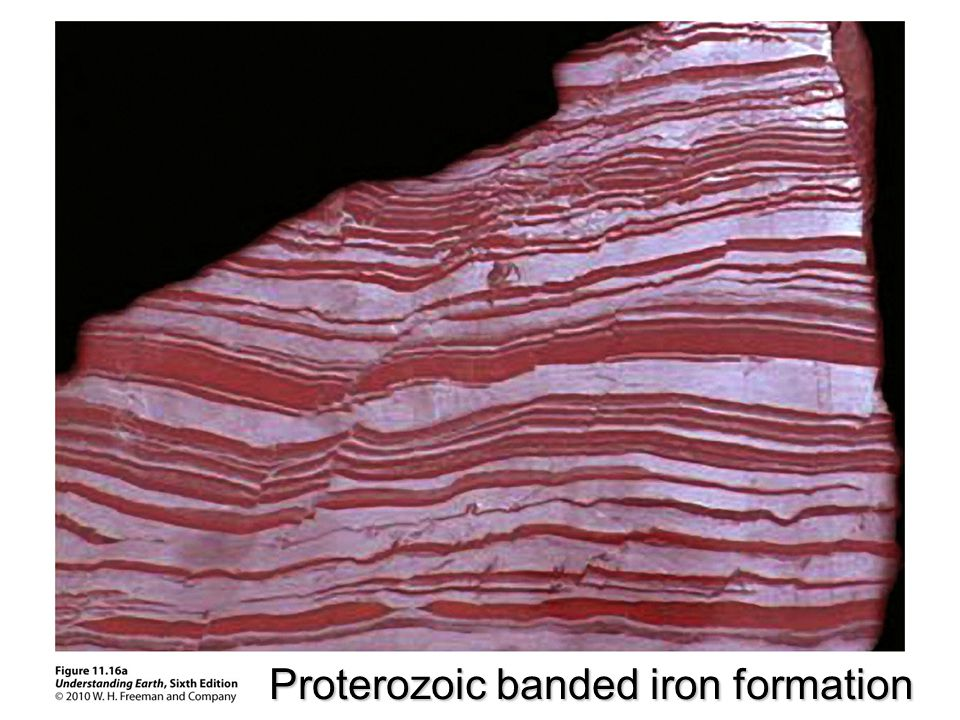 Proterozoic banded iron formation