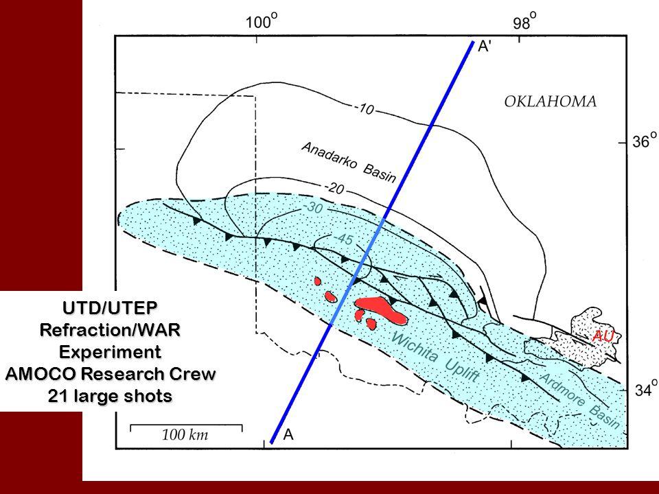 SOA Velocity Model-Upper Crust