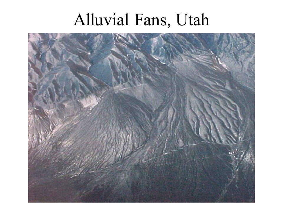 Alluvial Fans, Utah